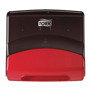 Dispenser W4 Tork 654008 rød/sort