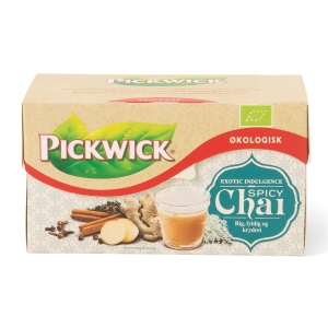 Te Pickwick chai pakke á 17 teposer