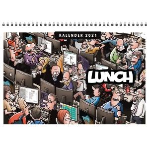 Kalendere Lunch Veggkalender Tegneseriealmanakk 29,7 x 21 cm