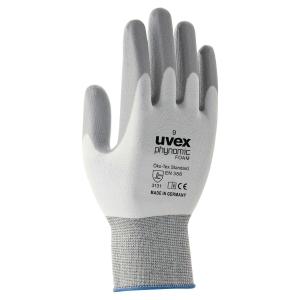Hanske Uvex Phynomic Foam str. 10, pakke á 10 par