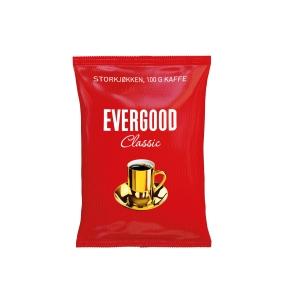 Filterkaffe Evergood, kartong à 45 poser à 100 g