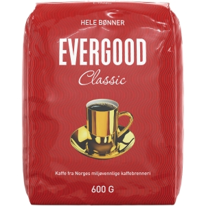 Kaffebønner Evergood Classic 600 g