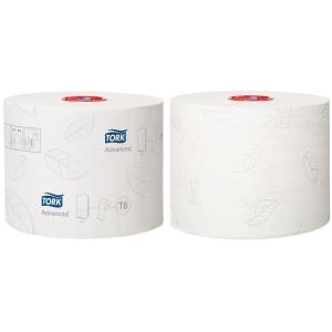 Toalettpapir Tork T6 127530 Advanced 2-lag kartong à 27 ruller