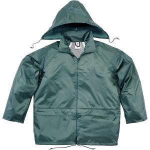 Regnsett jakke og bukse Deltaplus grønn str. xl
