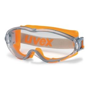 Vernebrille Uvex Ultrasonic oransje/grå