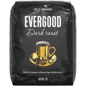 Kaffebønner Evergood Dark Roast, 600 g