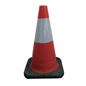 Kjegle for avsperring Viso rc500 45 cm rød/hvit klasse 2