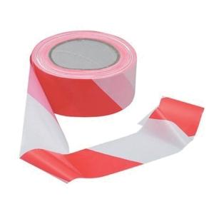 Avsperringsbånd Viso rød/hvit 5 cm x 100 meter