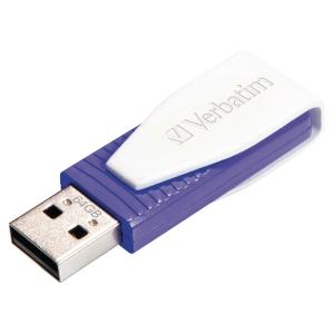 USB Verbatim Store N Go Swivel lilla 64GB