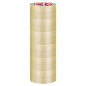 PAKKETAPE TESA 4120 PVC TAPE 50MMX100M TRANSPARENT PAKKE À 6 RULLER