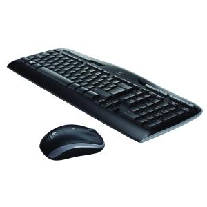Desktop Logitech MK330 trådløs mus/tastatur sort