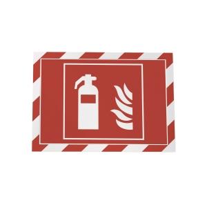 Lomme selvheftende Durable Duraframe rød/hvit A4, pakket á 2 stk