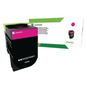 Lasertoner Lexmark 80C2HME, 3 000 sider, magenta