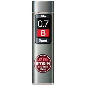 Miner Pentel Ain Stein, B, 0,7 mm, etui à 40 stk.