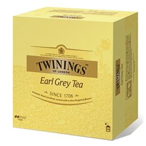 Te Twinings Earl Grey, pakke à 100 poser