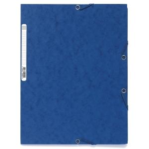 Strikkmappe Exacompta, A4, blå