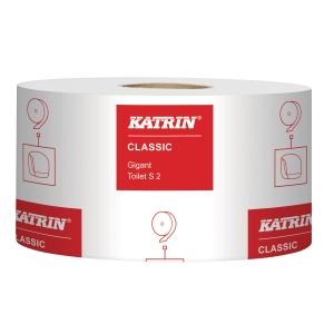 Toalettpapir Katrin pk12 Classic 106101 Gigant S2 sekk à 12 ruller
