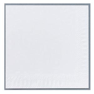 Servietter Duni Finess 2-lag 33x33 hvit pakke à 300 stk