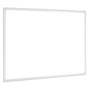 WHITEBOARDTAVLE BI-OFFICE ANTI MICROBIAL 120X90CM