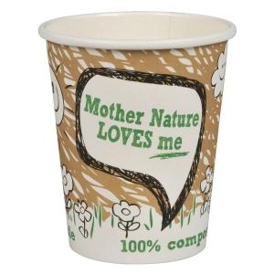 Kaffekopp komposterbar 24 cl 132352 pose à 50 stk