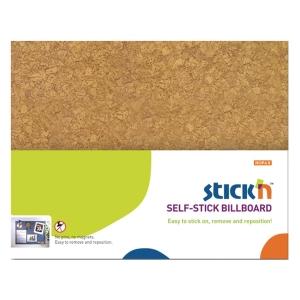 Selvklebende oppslagstavle Stick n, brun, 46 x 58 cm