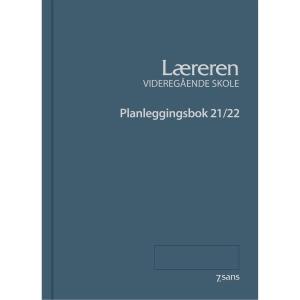 Planleggingsbok 7.Sans Læreren videregående A4 petrol