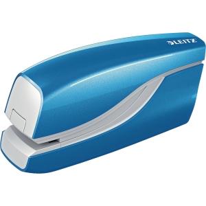 Stiftemaskin elektrisk Leitz 5566 NeXXt WOW, blå