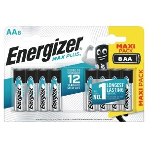 BATTERIER ENERGIZER ALKALINE ECO ADVANCED AA/LR6 PAKKE Á 8 STK