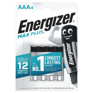 BATTERI ENERGIZER ALKALINE ECO ADVANCED AAA/LR3 PAKKE Á 4 STK