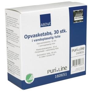 Oppvaskmaskin tabletter Puri-Line pakke á 30