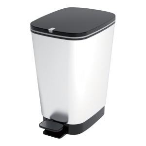 Avfallsspann Cep med pedal 45l grå