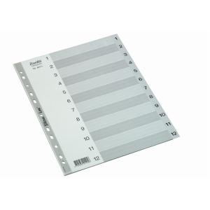 REGISTER BANTEX BASIC-LINE A4 1-12