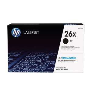 LASERTONER HP 26X CF226X 9K SORT