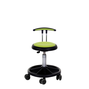 ARBEIDSSTOL NEW UFO 425 STOL MED LAV T-RYGG MEDIUM LIME