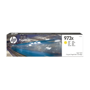 Blekkpatron HP 973X F6T83AE gul