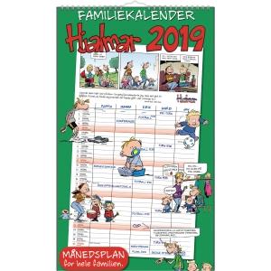 HJALMAR FAMILIEKALENDER 25 X 42 CM