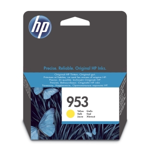 Blekkpatron HP 953 F6U14AE gul