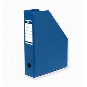 Tidsskriftkassett Elba, A4, rygg 6,5 cm, blå