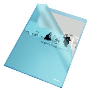 Omslag Esselte, A4, blå, pakke à 100 stk.