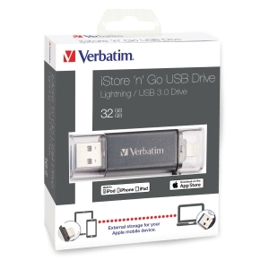 USB VERBATIM ISTORE  N  GO 3.0 LIGHT 32GB