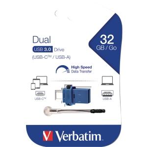 USB-minne 3.0 Verbatim Store N Go V3 16 GB grå