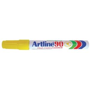 Permanent merkepenn Artline 90, gul,2,5 mm
