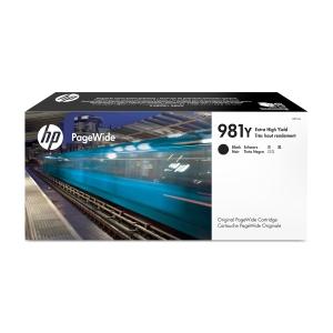 Blekkpatron HP 981Y L0R16A inkjet hy sort