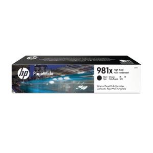 Blekkpatron HP 981X L0R12A inkjet hy sort