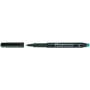 Permanent merkepenn Faber-Castell Multimark, medium, sort