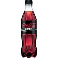 Coca-Cola zero, Einweg PET-Flasche, 12 x 500 ml