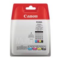 Tintenpatrone Canon 0386C005 - CLI-571, 4-farbig