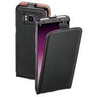 Ledertasche für Samsung Galaxy S8 Hama 178748 FlapCase, schwarz