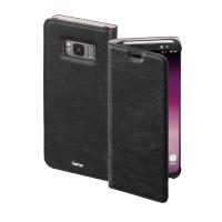 Hardcase für Samsung Galaxy S8 178770, Flap Case, mit Frontklappe, schwarz