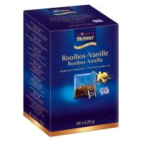 Tee Meßmer 3118 Rooibos-Vanille, 20 Beutel a 2,25g